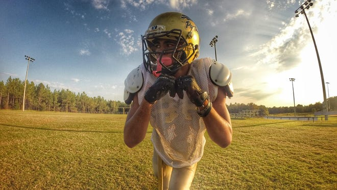 John Paul II sophomore Sam Smith is one of a few reasons why the Panthers' football team is off to a 4-2 start this season and could top the school's previous best mark of five wins in a season.