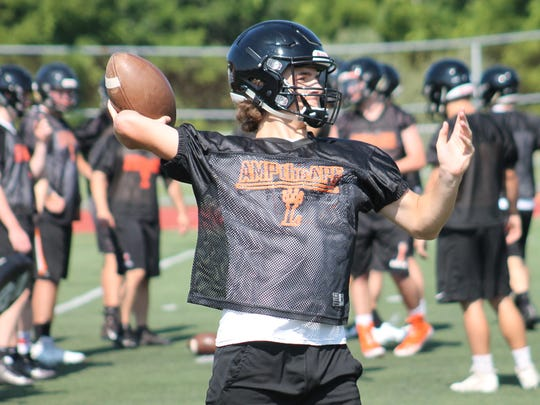Riley Hamill is a talented defensive back and also Loveland's most experienced quarterback.