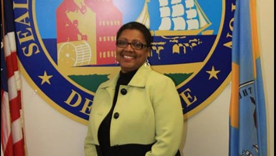"""Sheila Winfrey-Brown was promoted by Mayor Dennis Williams in 2013. He called her """"an accomplished professional with proven success in operations management and in building financial and accounting operations,"""" a Facebook post from that time shows."""