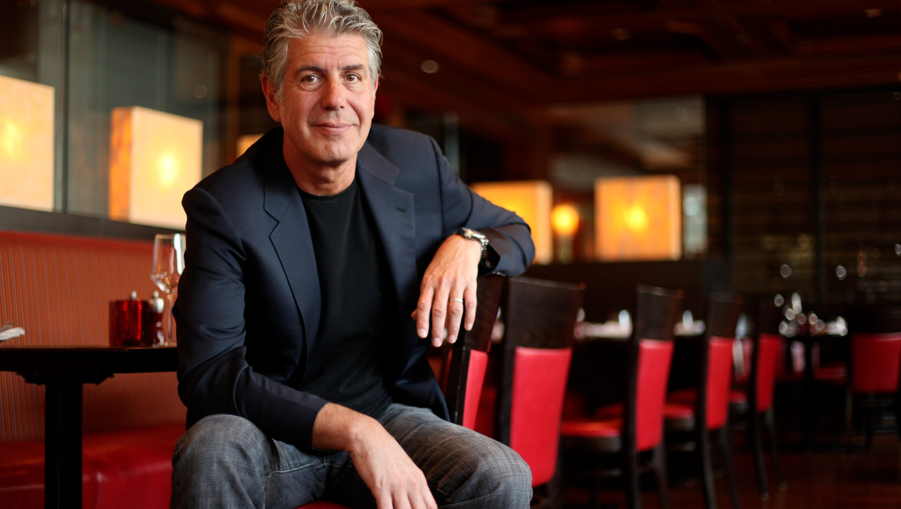 Quotes from Anthony Bourdain on life and travel: I'm going to 'die in the saddle'