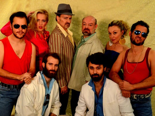 The Ensemble cast of Southwest Shakespeare Company's