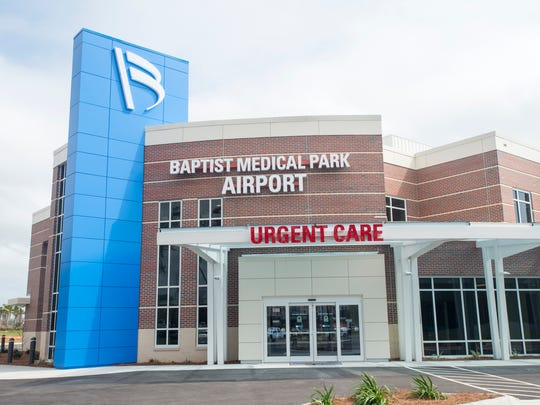 Baptist Health Care's new Baptist Medical Park Airport is scheduled to be opened in Pensacola on March 1, 2017.