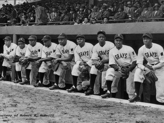 The 1944 Homestead (Pa.) Grays.