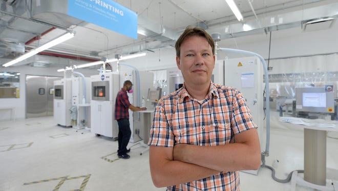 Peter Weijmarshausen is CEO of Shapeways.