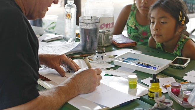 Capital Calligraphers Guild will hold its monthly meeting 7 to 9 p.m. Thursday, Nov. 5, at Capital Manor, 1955 Dallas Highway NW.