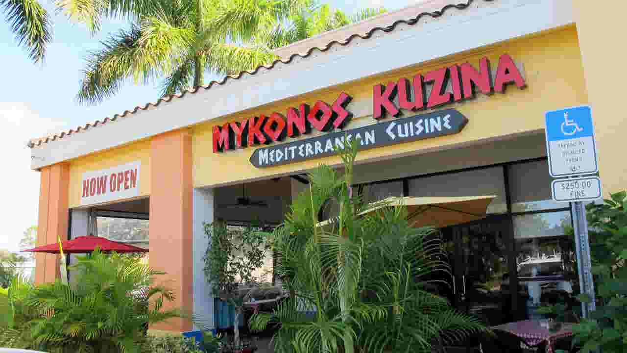 Dining Review Fresh Greek Cuisine At Mykonos Kuzina In North Naples
