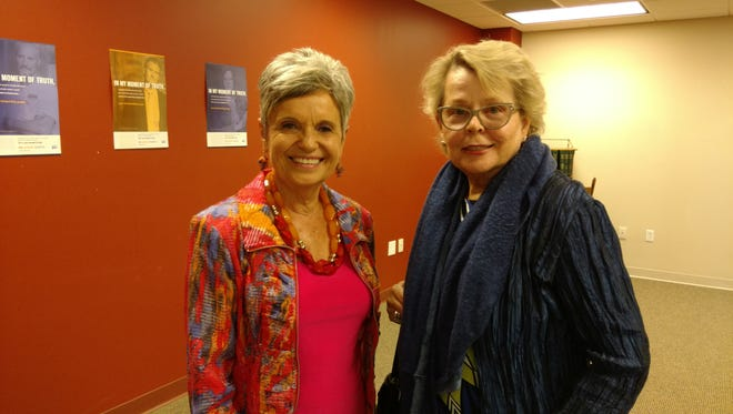 Kathy McGraw (left) and Joan Sozen are co-presidents of the Lafayette Symphony Guild. The group is celebrating its 60th anniversary this year.