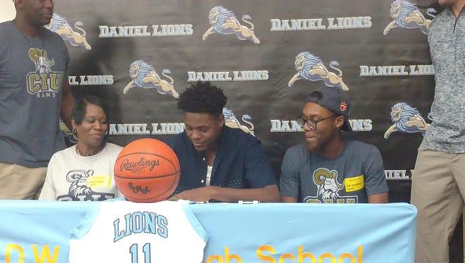 Demarcus Gay signs to play basketball at Columbia International University