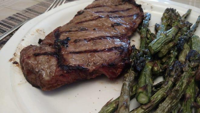 Dijon and Garlic Steak