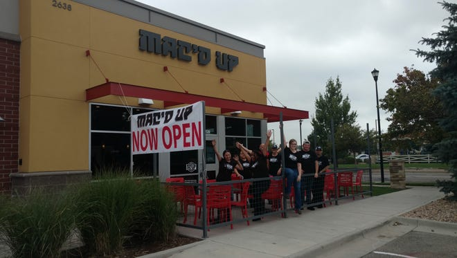 Mac'd Up is a new gourmet macaroni and cheese restaurant in Fort Collins.