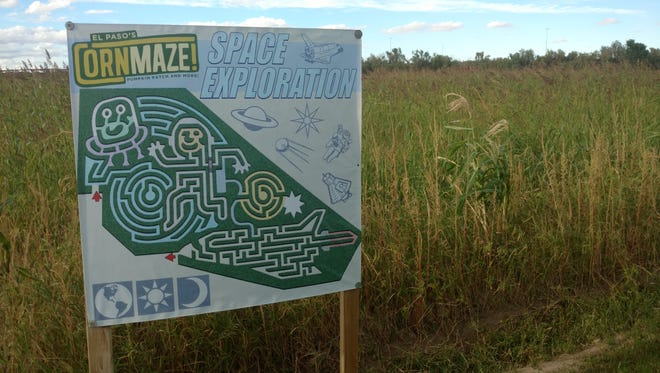 The El Paso Corn Maze, off North Loop and a mile east off Americas, is open weekends through Nov. 5