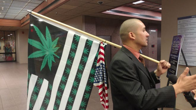 Pierre Andre Euzarraga, who said he supports the First Chance program, has been advocating for the legalization of marijuana in Texas. He frequently speaks in support of legalization at El Paso County Commissioners Court and El Paso City Council meetings.