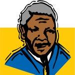 Nelson Mandela illustration.