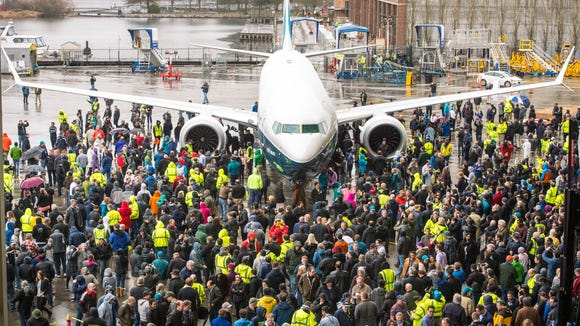 Boeing's MAX 9 is viewed by the company's employees