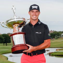 Billy Horschel beats Jason Day in playoff to win Byron Nelson