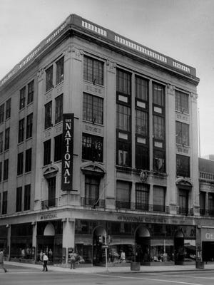National Clothing Co., 159 E. Main St., was a downtown stalwart for much of the 20th century.