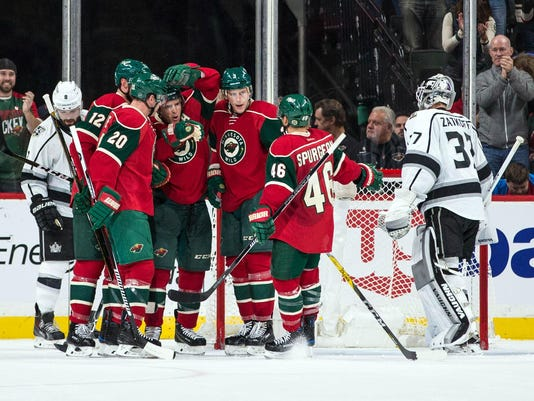 NHL: Los Angeles Kings at Minnesota Wild