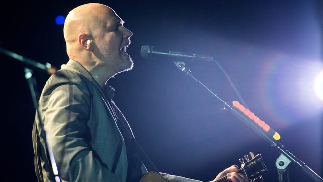 Billy Corgan of The Smashing Pumpkins will bring his limited run of solo concerts to The Grand next week.
