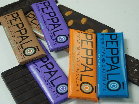 Peppalo Stone Ground Chocolate is made from stone-ground,