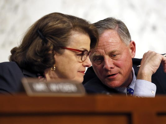 Dianne Feinstein, Richard Burr