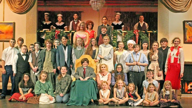 "The Mishicot High School Music Department performed ""Annie"" recently to rave reviews."