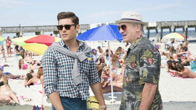 "Zac Efron, left, and Robert DeNiro star in ""Dirty Grandpa,"" opening in theaters this week."
