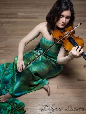 "Delyana Lazarova will present a free violin recital Monday at the Montgomery Museum of Fine Arts, featuring two lead actors from ASF's ""Beauty and the Beast."""