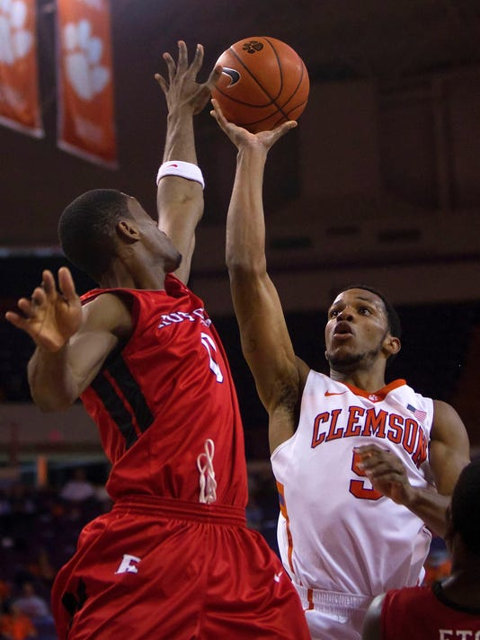 NCAA Basketball: Rutgers at Clemson