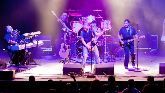The B Street Band, a Bruce Springsteen Tribute Band, performs in January 2012.