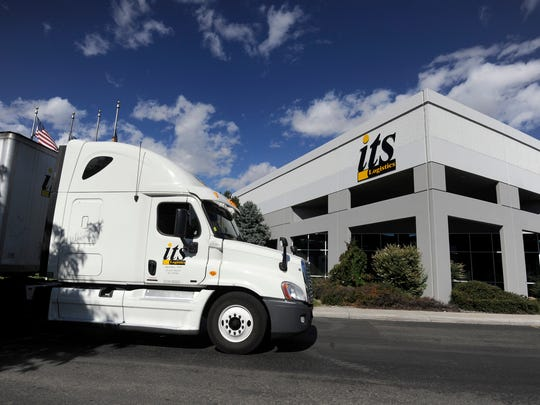 An ITS Logistics truck.