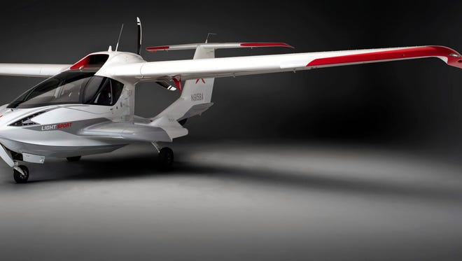Roy Halladay was among the first to fly the ICON A5, with only about 20 in existence, according the website for ICON Aviation.