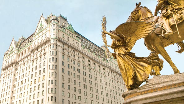 The iconic Plaza Hotel in New York City, a Fairmont