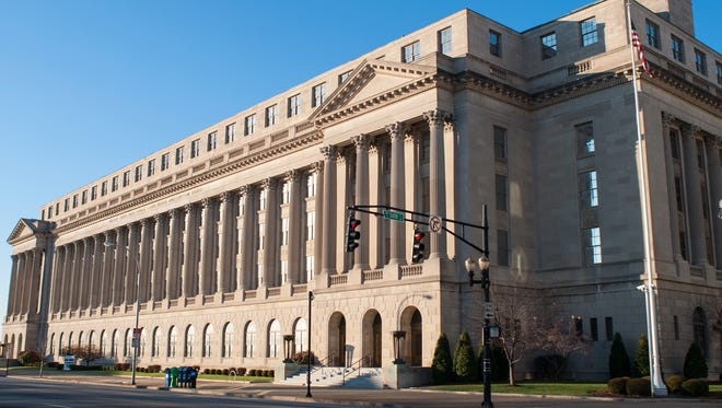 Federal Court House in Louisville.