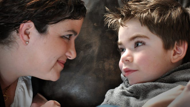 "Jackson Salemme was a ""normal"" kid until around kindergarten, when he got a high fever and developed epilepsy. Now he has seizures very frequently and has to be hospitalized a lot. The family is backing medical cannabis research, which could reduce Jackson's seizures. (Bil Bowden - For The York Dispatch)"
