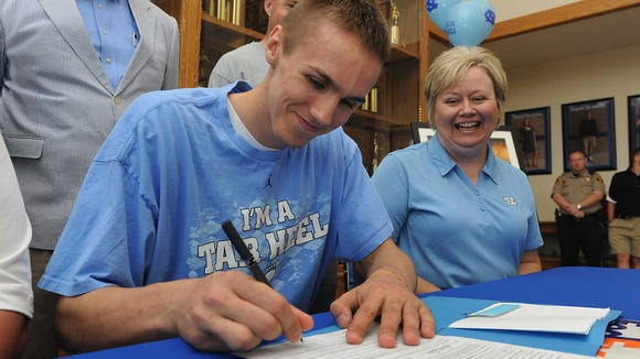 Cindi Simmons was a proud mother when Jackson Simmons signed to play college basketball for North Carolina five years ago.