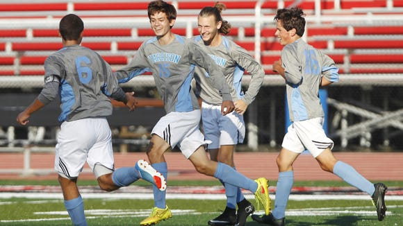 Harrison became the first boys soccer team in the area