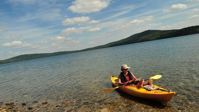 Get your last taste of summer at Round Valley Recreation area.