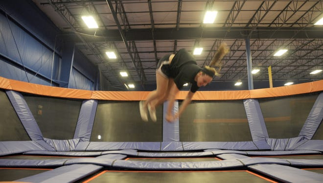 Kids can have all sorts of fun at Skyzone Trampoline Park in Grimes.