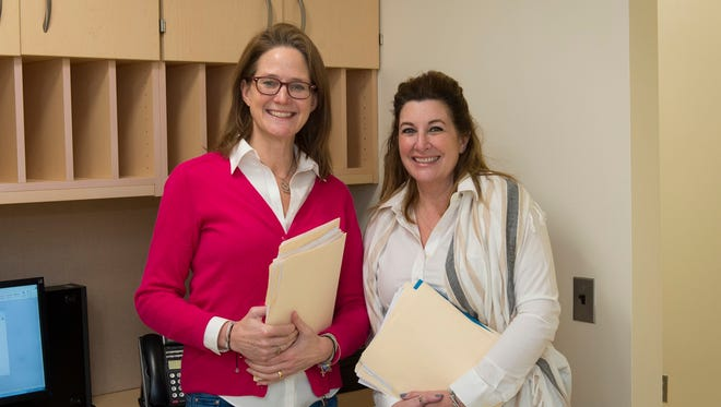 Social worker Betsy Dunnigan & Lisa Tremayne, coordinator of The Center for Perinatal Mood and Anxiety Disorders will make a presentation at the National Perinatal Conference in Atlanta on March 11