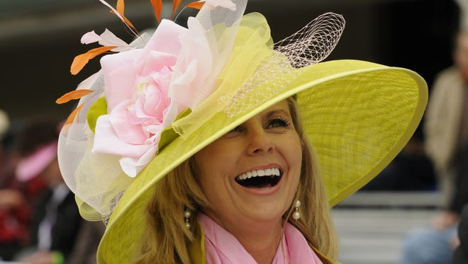 Even if you'll be donning a festive Derby hat, remember to wear sunscreen.