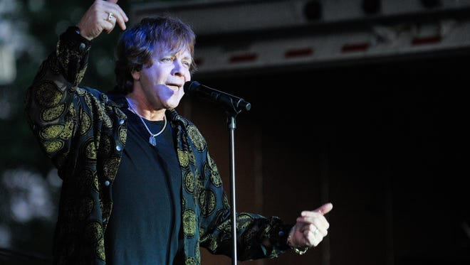 Eddie Money performs at an Ohio festival in 2010. The 1980s rocker will headline the 2017 Central Wisconsin State Fair.