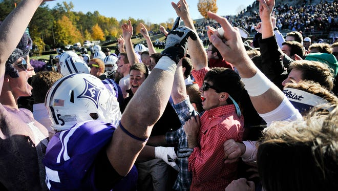 Furman's home football games in 2017 are scheduled to kickoff between 1 p.m. and 2 p.m.