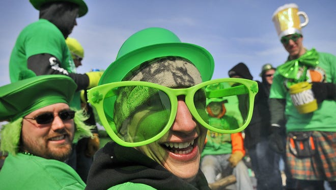 Dress up in green and celebrate St. Patrick's Day this Saturday at noon during the Cincinnati St. Patrick's Day Parade.