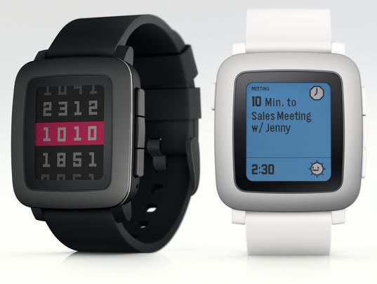 Pebble unveils Pebble Time smartwatch