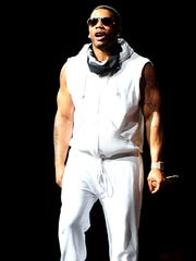Nelly performs onstage at Bridgestone Arena on May 27, 2015, in Nashville.