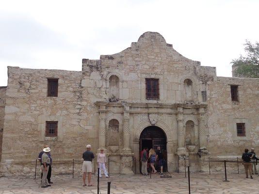 Texans are very proud of historic Alamo in downtown San Antonio