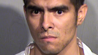 Francisco Sandoval was arrested in connection with a string of armed robberies across the Phoenix area