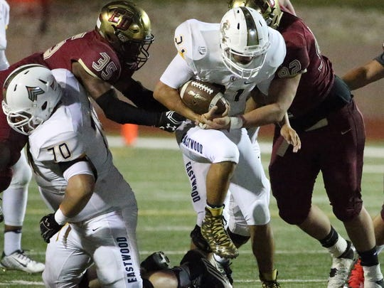 El Dorado took on Eastwood Thursday night in the Socorro Activities Complex.