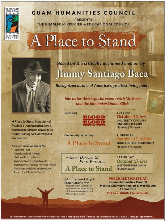 A Place to Stand flier