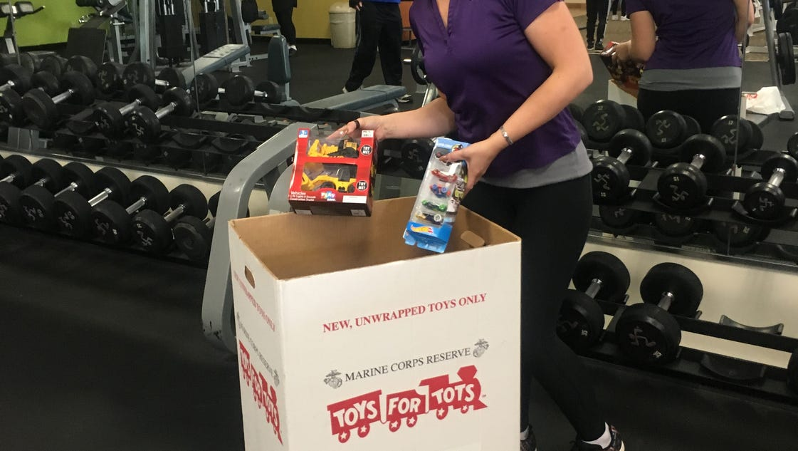 It s time for toys tots donations
